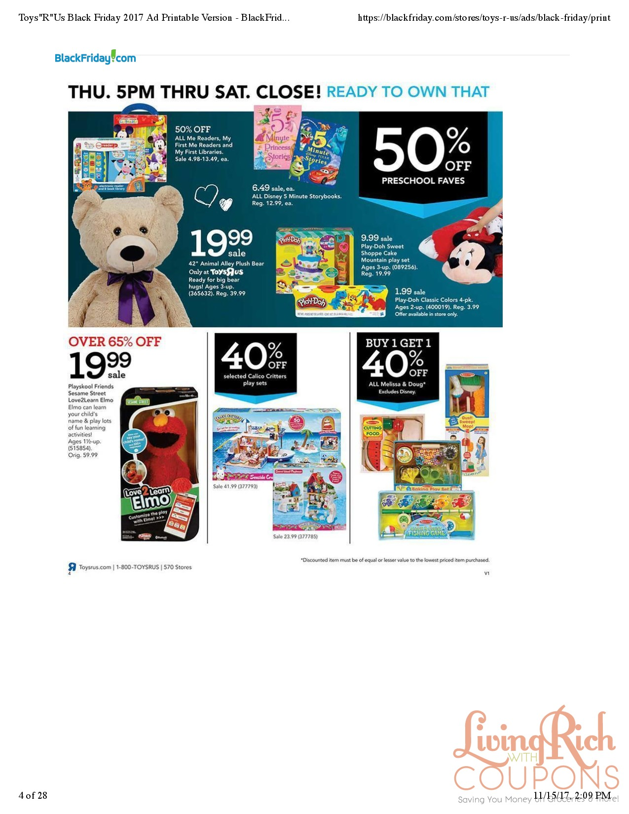 Toys R Us Black Friday Store Map - Toys-r-us-black-friday-store-map