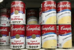 Campbell's Cream of Chicken or Mushroom Soup just $0.63 at Dollar General!