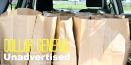 Save Big at Dollar General with This Week's Huge List Unadvertised Deals
