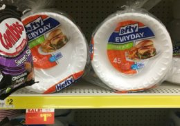 Hefty Foam Plates Just $1 at Dollar General!