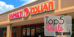 5 of the Most Popular Deals at Family Dollar