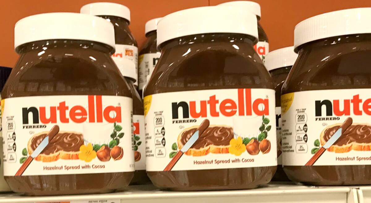 nutella big jar only 2 99 at stop shop giant and giant