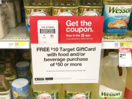 Target $10/$50 Grocery Gift Card Deal – Score 55 Products For as Low as $0.33 Each!