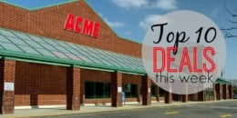 10 of the Most Popular Deals at Acme - Ending 10/17