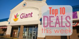 10 of the Most Popular Deals at Giant - Ending 4/25