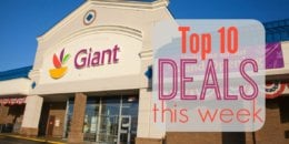 10 of the Most Popular Deals at Giant - Ending 12/20