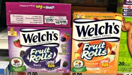 Welch's Fruit Snack's as Low as $0.88 at Giant/Martin