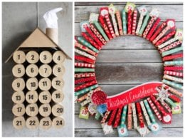15 Creative DIY Ways to Countdown to Christmas