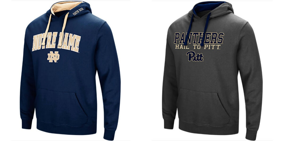 39a154f7 NCAA College Fleece Hoodies $16.99 (Reg. $40) + Free Shipping!Living ...