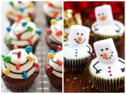 21 Extremely Festive & Delicious Christmas Cupcake Recipes