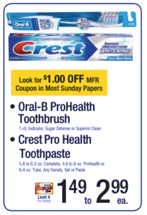 $2 off crest coupon