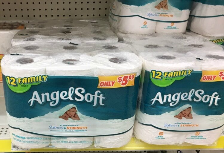 Dollar General Deal Angel Soft Bath Tissue Only 0 23 Per