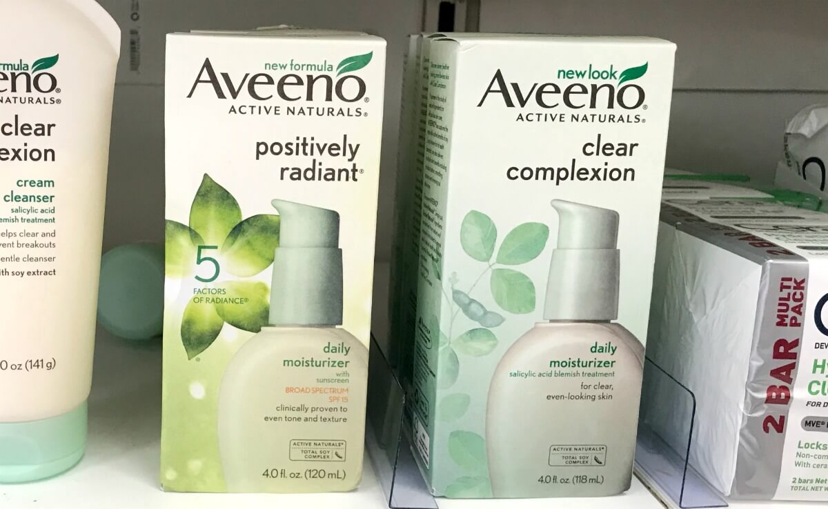 New $3/1 Aveeno Positively Radiant Lotion or Body Coupon + Deals at Walmart, CVS & More!