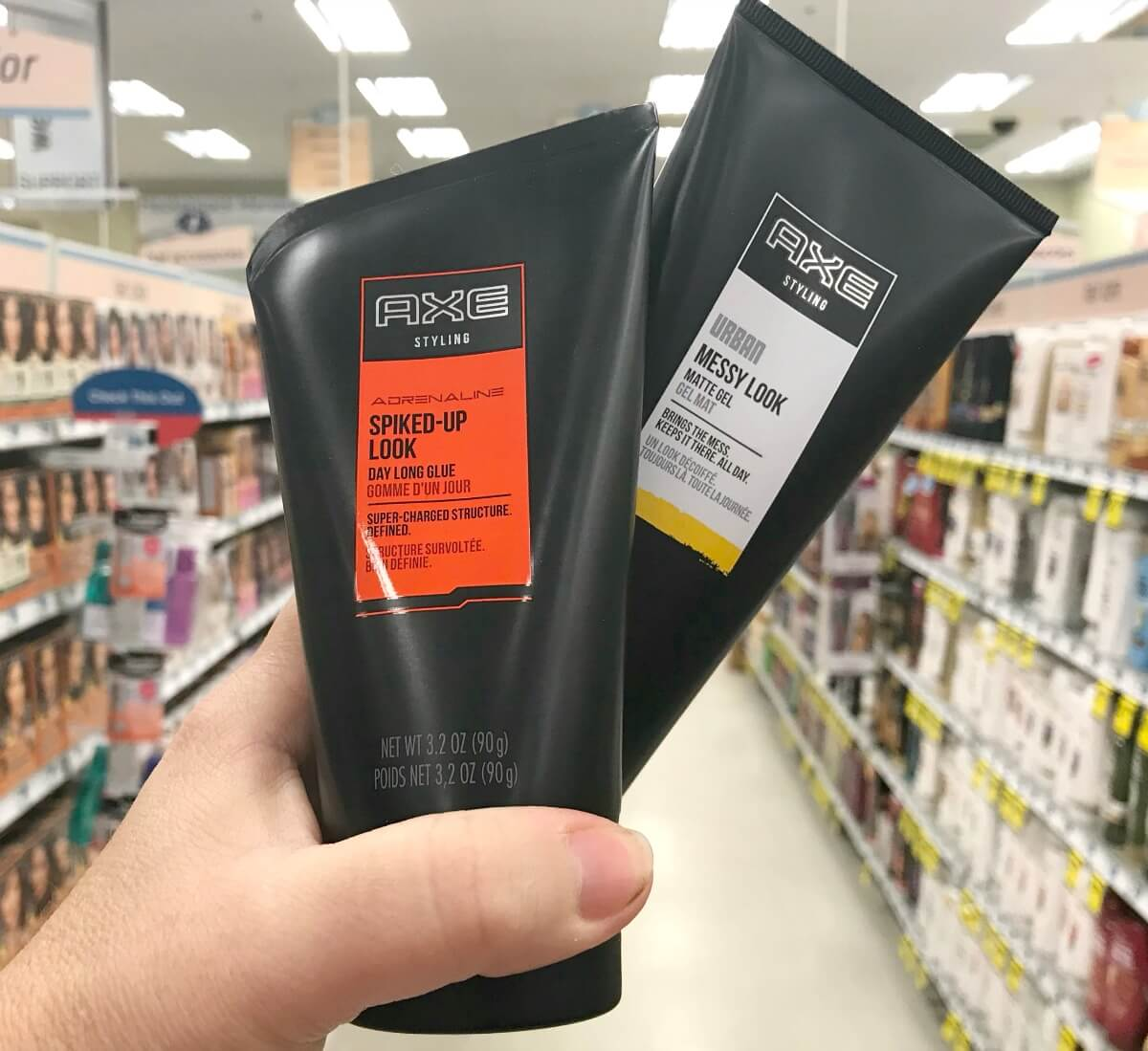2 FREE + $1 Money Maker on Axe Shampoo & Styling Products at ShopRite!
