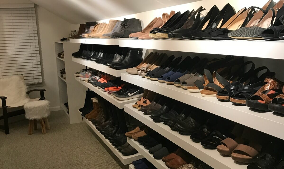 Closet Ideas For Shoes