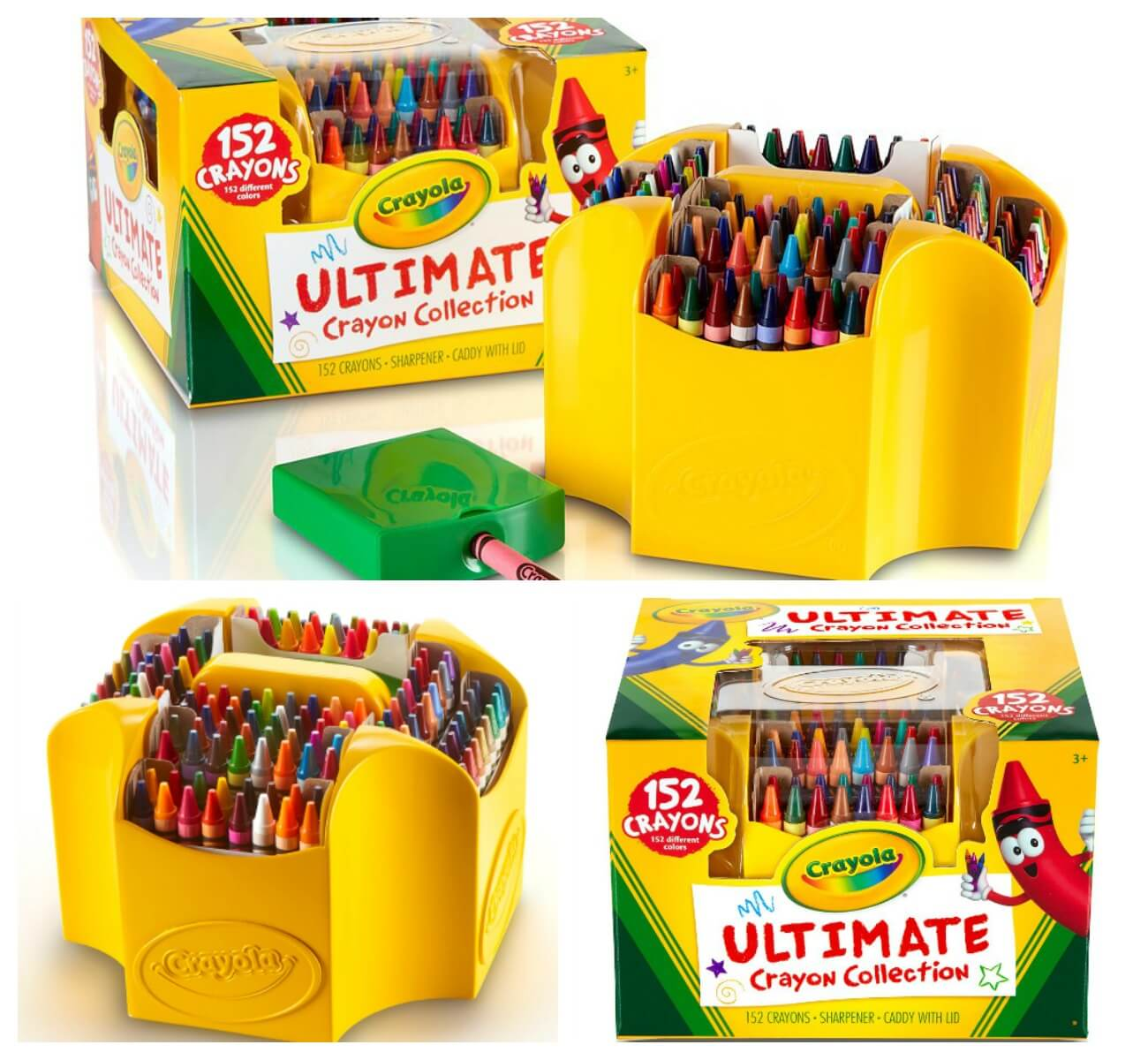 152ct Ultimate Crayola Crayon Case only $12.79 {orig: $23.07}Living ...