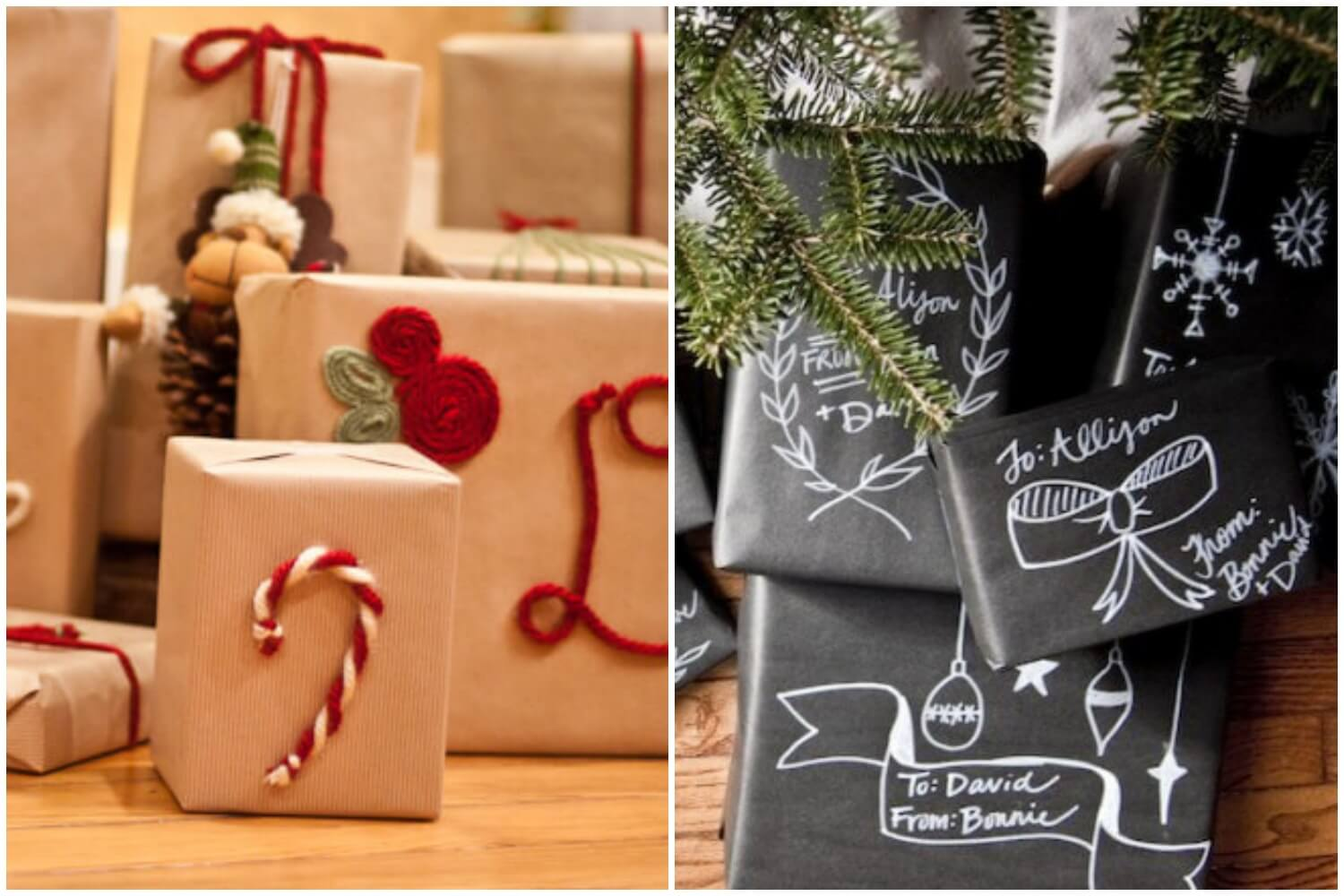gift wrapping ideas more christmas