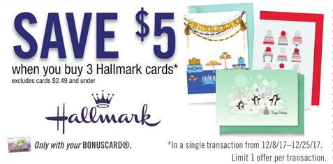 Last chance hallmark greeting cards as low as 017 at stop shop through 1225 stop shop giant giantmartin have a great deal on hallmark greeting cards the deal is buy any 3 hallmark cards 250 or higher m4hsunfo