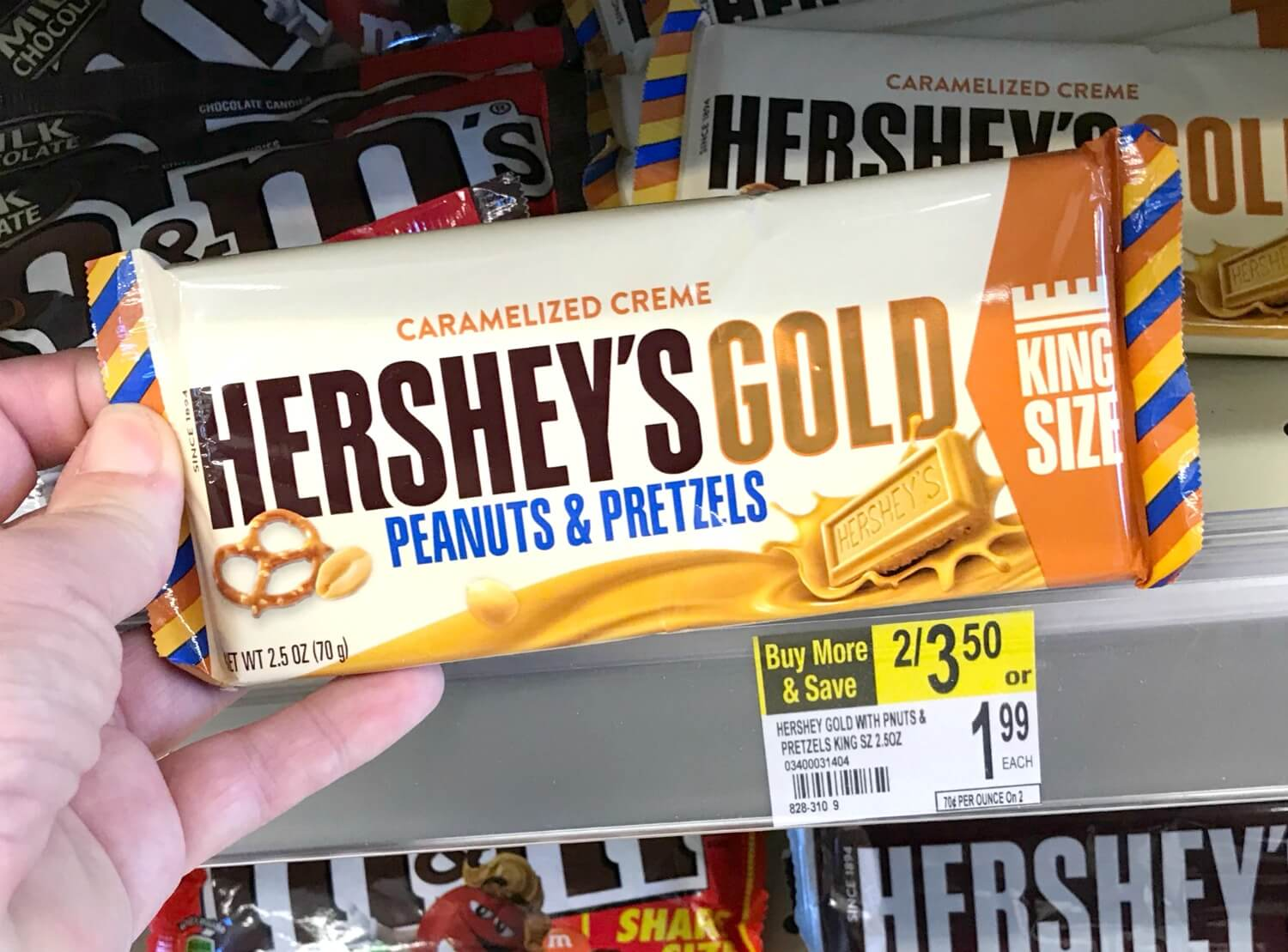 New BOGO Hershey's Candy Bar Coupon - $0.13 at CVS {12/17} & More!