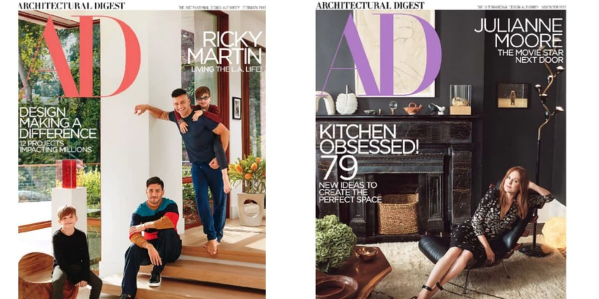 Architectural Digest Magazine Deal 2 Years For $9.99