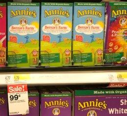 Target Shoppers - $0.54 Annie's Mac & Cheese!