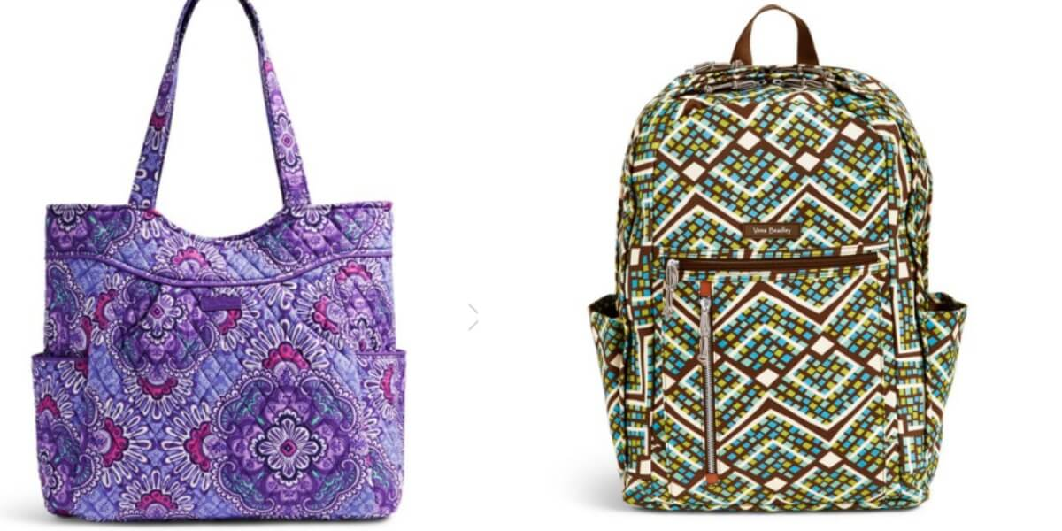 431f648ce596 Vera Bradley Clearance Sale 50-70% Off + Extra 30% Off Backpacks  20 ...