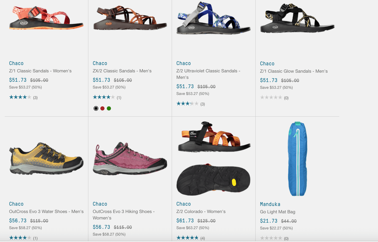 b4fc9884e0 Select Chaco Shoes and Sandals Up to 50% Off + Additional 25% Off