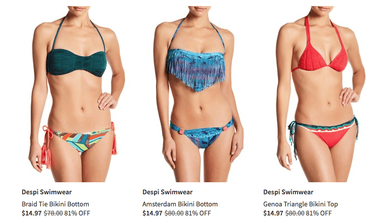 f7fddd846e718 Pick up a new swimsuit at Nordstrom Rack. Bathing Suits Up to 80% Off  Limited sizes so hurry over.