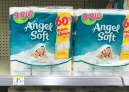 Angel Soft Bath Tissue, 12pk Mega Rolls Just $3.99 at Walgreens!