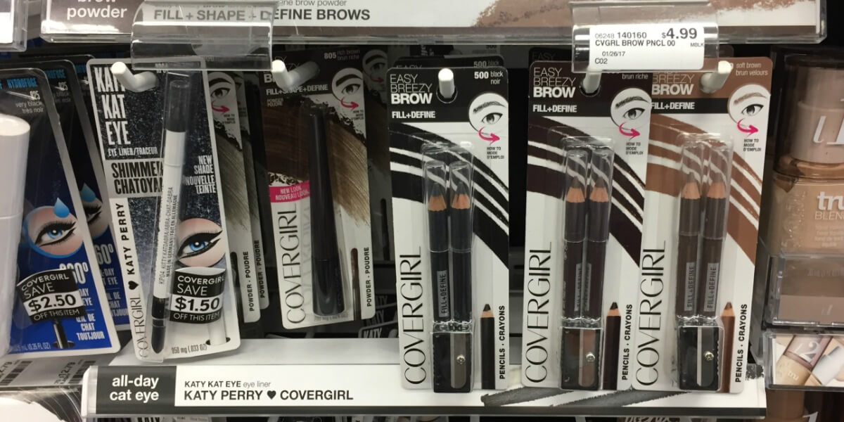 Better Than FREE CoverGirl Brow & Eyemakers Eyeliner And More Great Deals at CVS!