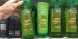 Walgreens Shoppers - $1 Garnier Fructis Hair Care Products!
