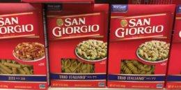 San Giorgio Pasta Just $0.88 at Acme!