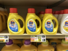 Tide Simply Laundry Detergent & Bounce Dryer Sheets Just $0.99 at Shoprite! {3/25}