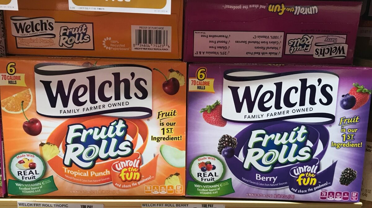 ShopRite Shoppers - FREE Welch's Fruit Rolls!