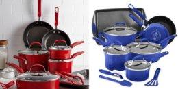 Rachael Ray 14-Pc. Nonstick Cookware Set $69.99 (Reg. $299.99)