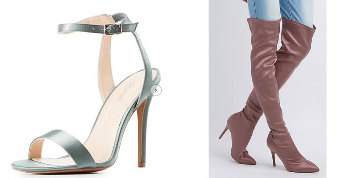 289334066c0 Top 10 Punto Medio Noticias   Charlotte Russe Shoes Boots