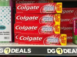 Colgate Toothpaste Just $0.50 at Dollar General!