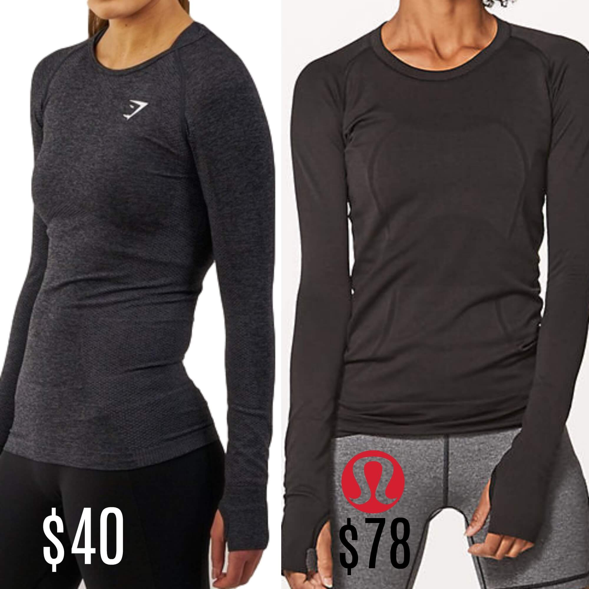 31fd8bcf66 LuluLemon Dupes That Will Shock You, They Are That GoodLiving Rich ...