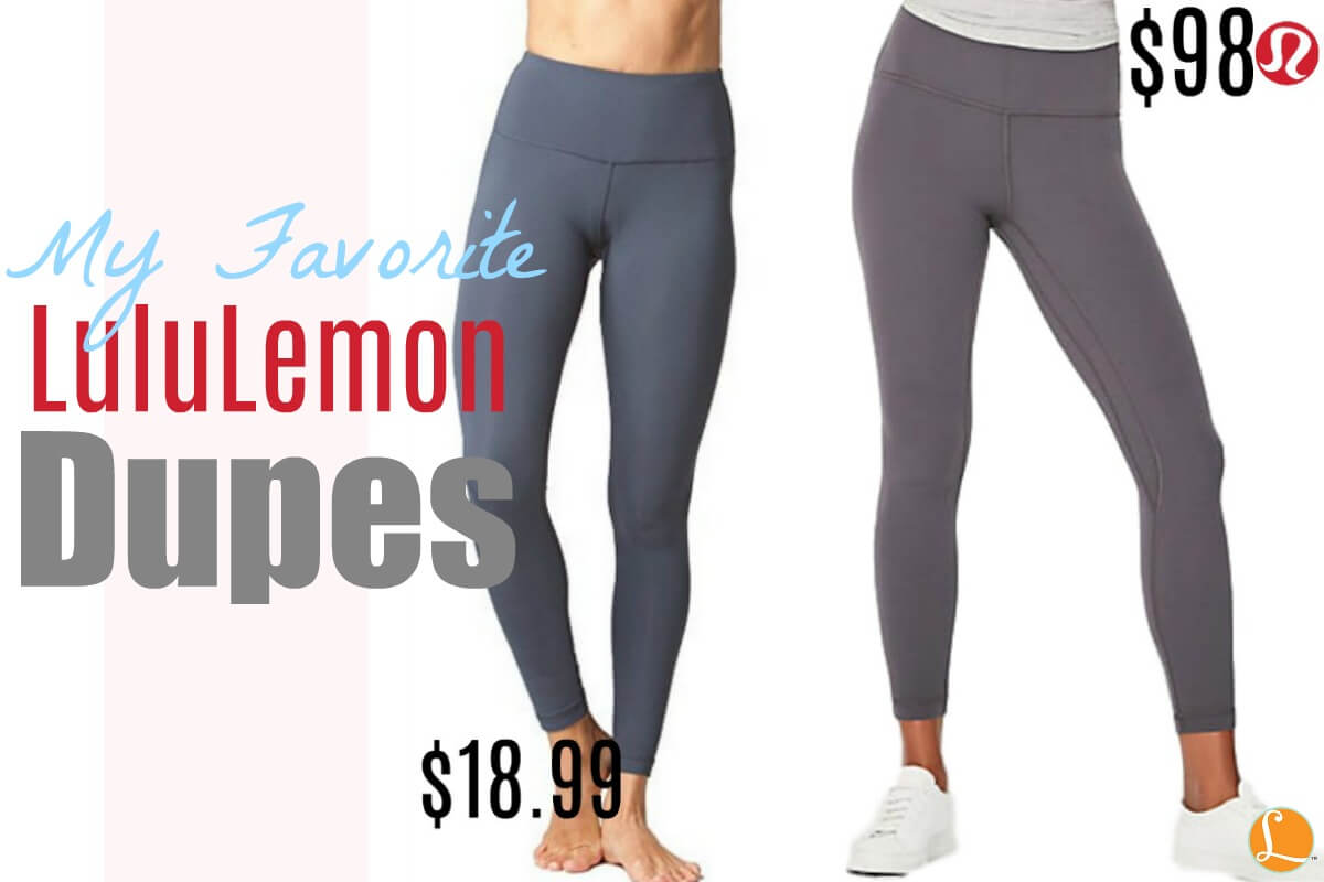 2fad20b2c0159 LuluLemon Dupes That Will Shock You, They Are That GoodLiving Rich ...