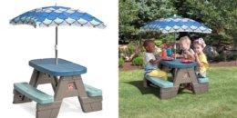 Kohl's: Step2 Picnic & Play Table Set + Free Shipping! $29.11 (Reg.$79.99) {Cardholders}