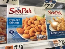 SeaPak Shrimp only $3.50 at Stop & Shop and Giant