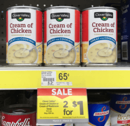 Clover Valley Cream Soups Just $0.50 at Dollar General! {No Coupons Needed!}