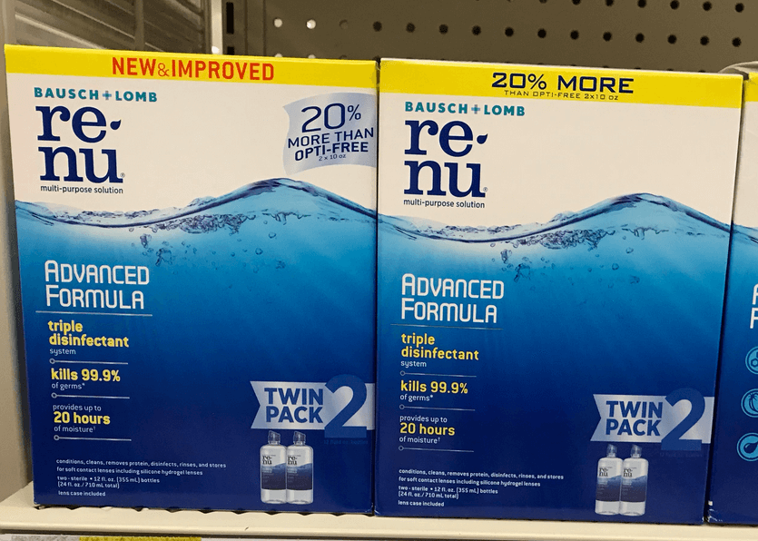 New $5/1 renu Twin Pack Solution Coupon + Great Deals at Target & Rite Aid!
