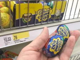 Cadbury or Reese's Easter Single Serve Candies, $0.88 at Rite Aid
