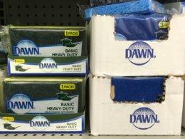 Dawn Basic Scrub Sponges only $0.50 at Family Dollar!