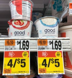 Good Culture Cottage Cheese Cups only $0.50 at Stop & Shop and Giant!