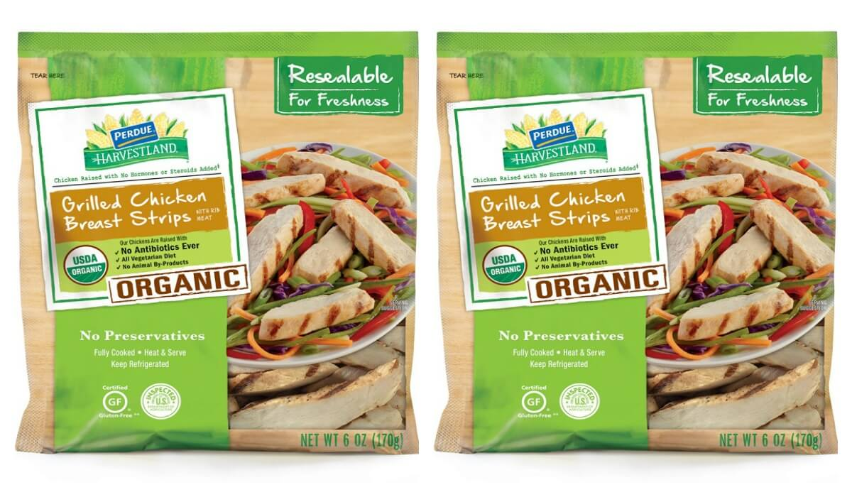 New $1.50/1 Pedue Harvestland Organic Grilled Chicken Breast Strips Coupon - $0.99 at Publix!