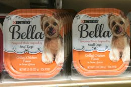 Save Over $5 on Bella Dog Food - $0.24 at Walmart & More {Ibotta Rebate}