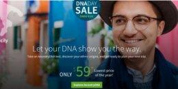 Ancestry.com AncestryDNA Test $59 (Reg. $99)
