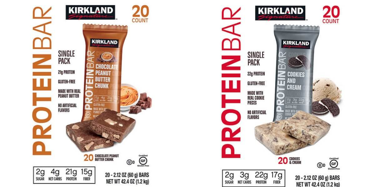 Costco Wholesale Kirkland Signature Protein Bars 3 4 Net